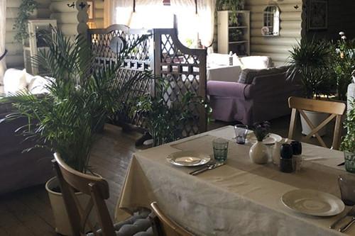Interior restaurant Prichal